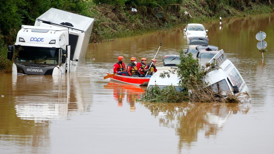 من فيضانات ألمانيا