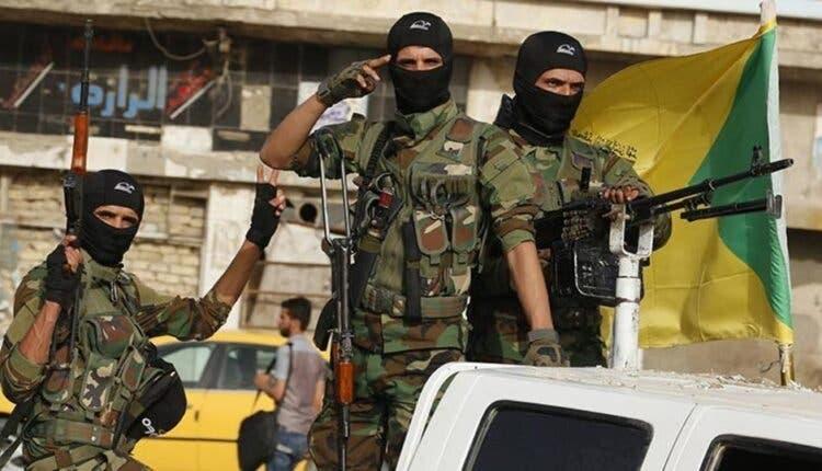 شبه نظامیان حزبالله عراق وابسته به ایران