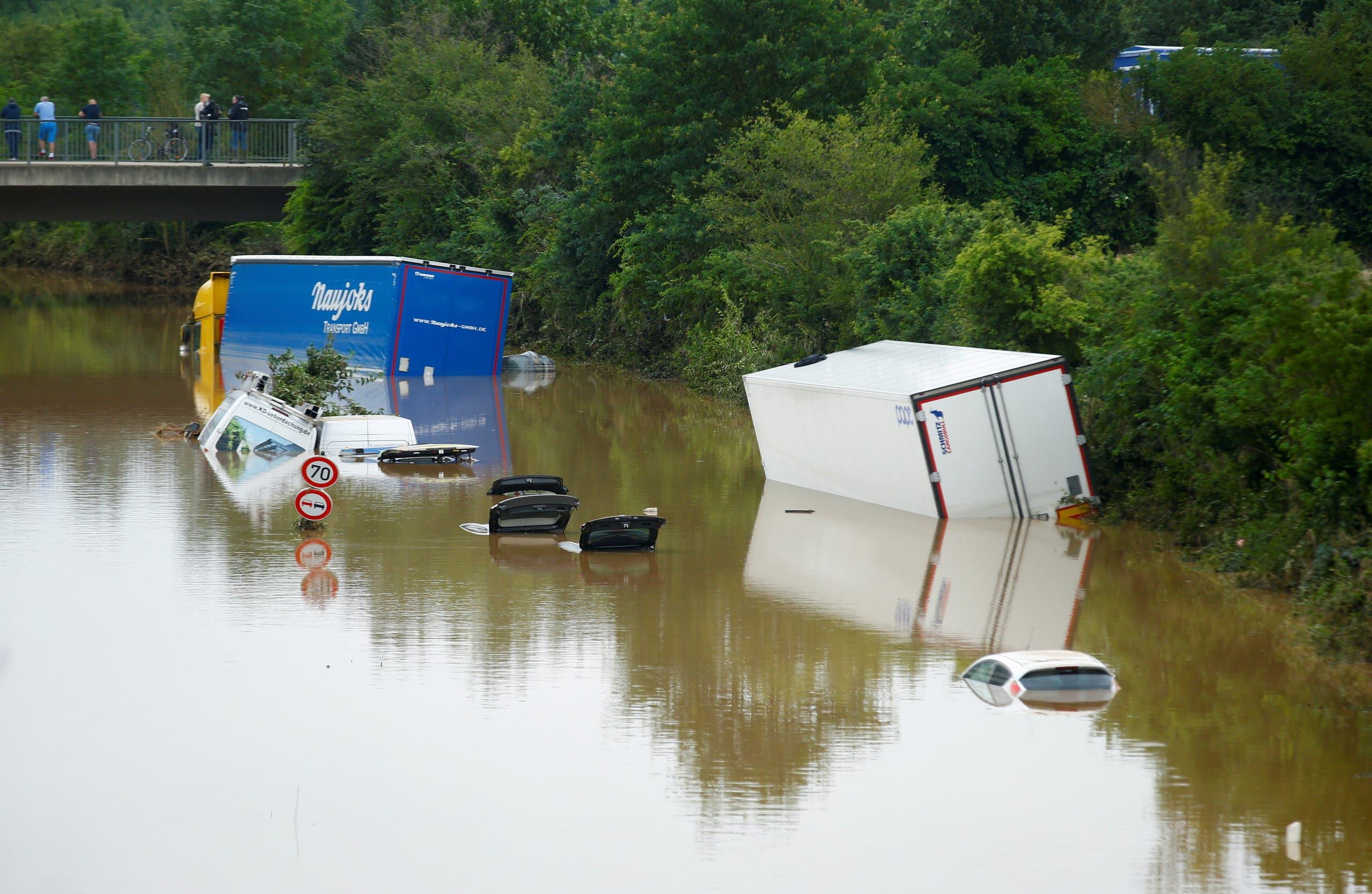 جرمنی میں سیلاب کی تباہ کاریاں