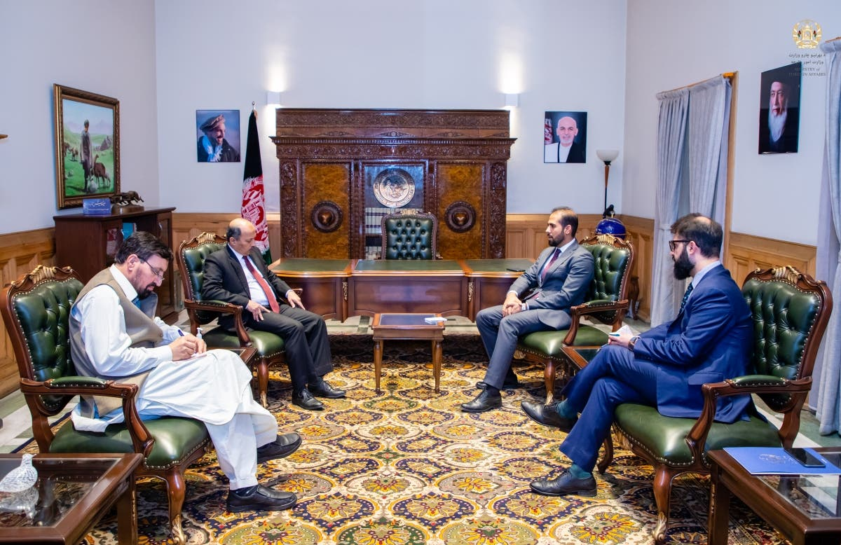 سفیر پاکستان در وزارت امور خارجه افغانستان