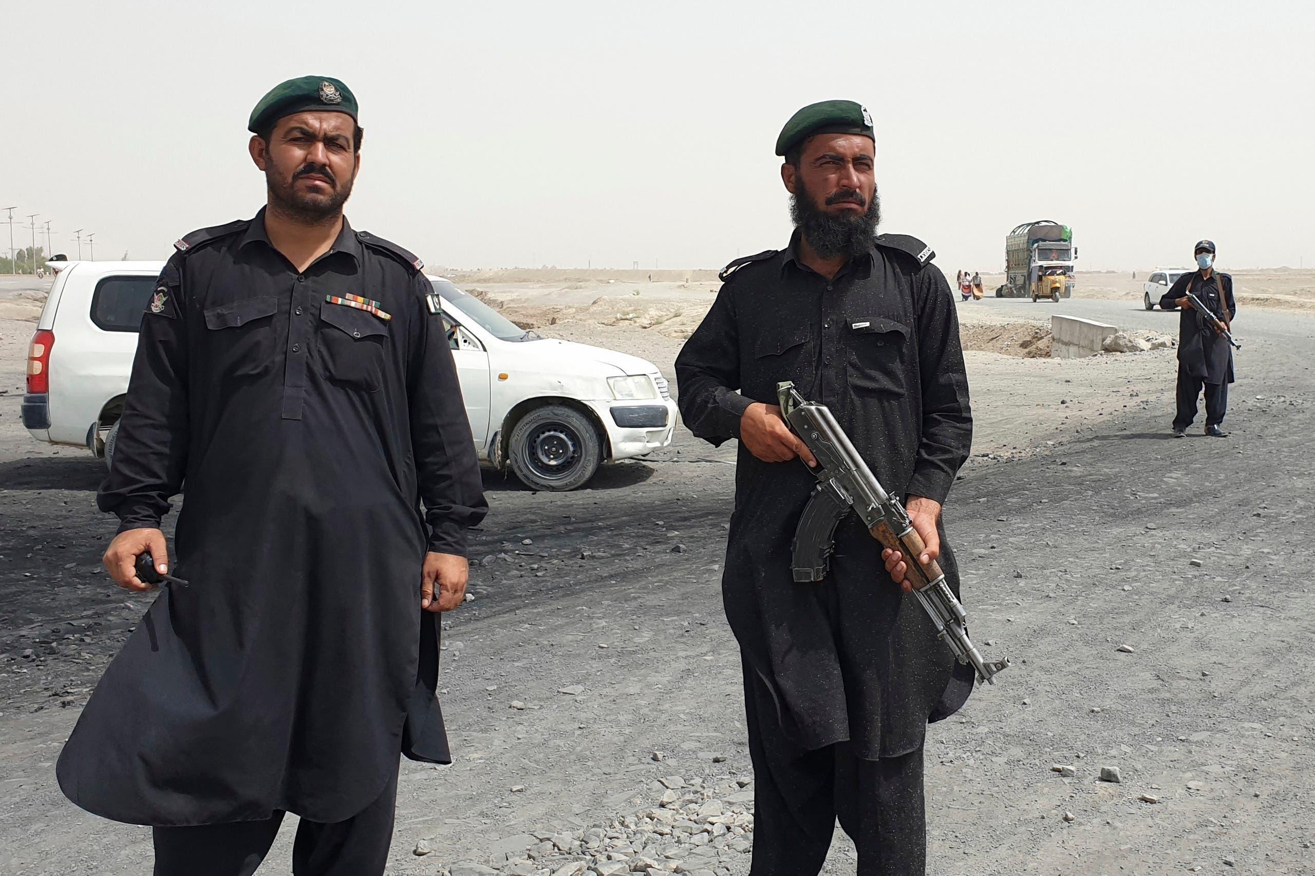 سپین بولدک میں افغان سرحد محافظ