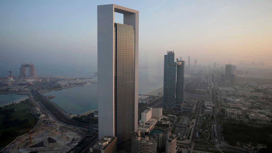 Sunrise over the Abu Dhabi skyline, United Arab Emirates, Monday, Nov. 7, 2016. (AP)