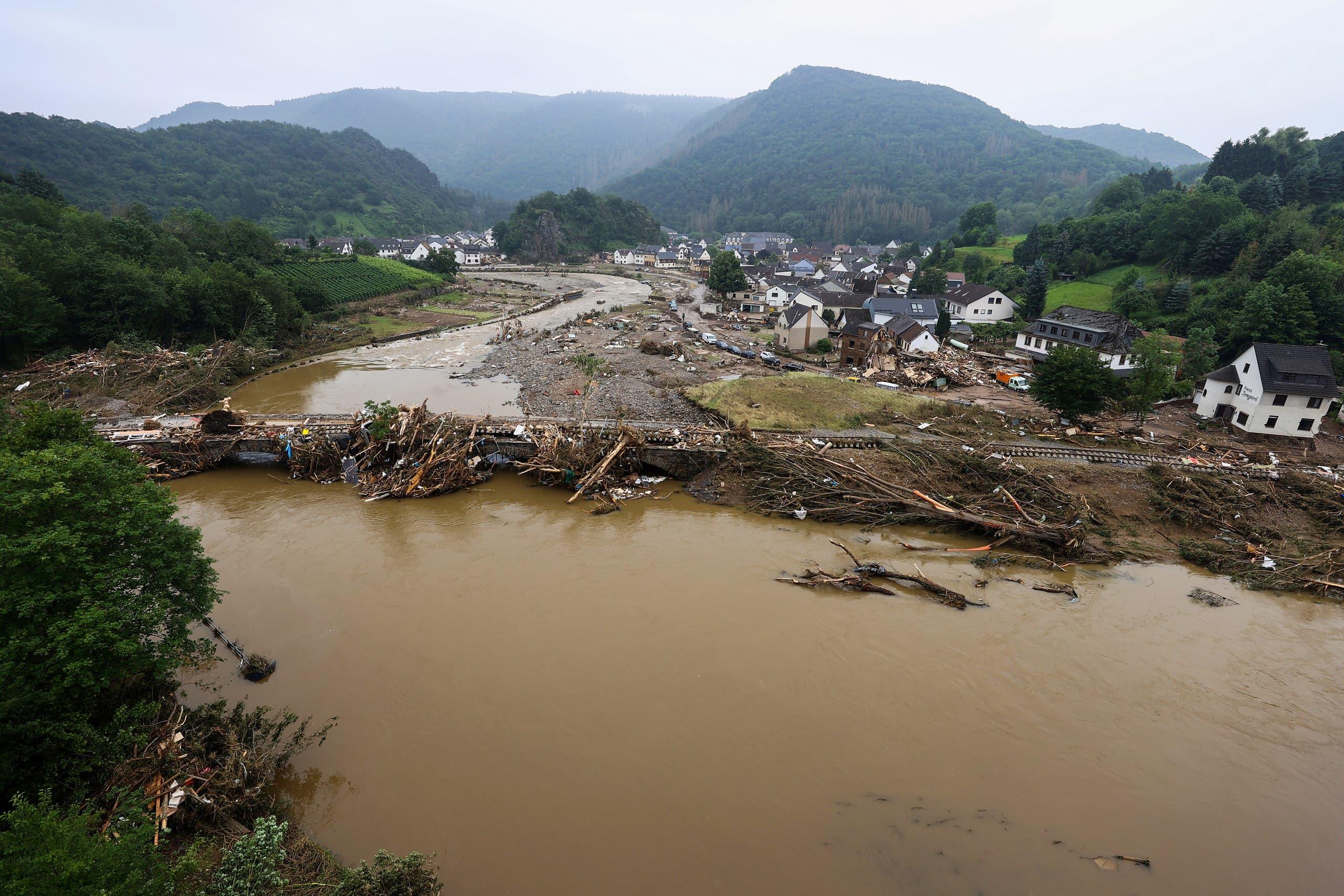 الفيضانات في ألمانيا