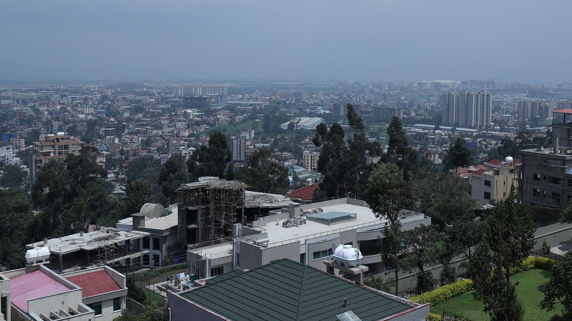 A general view shows an urban landscape of Addis Ababa seen from Megenagna neighbourhood, Ethiopia. June 24, 2019. (Reuters)