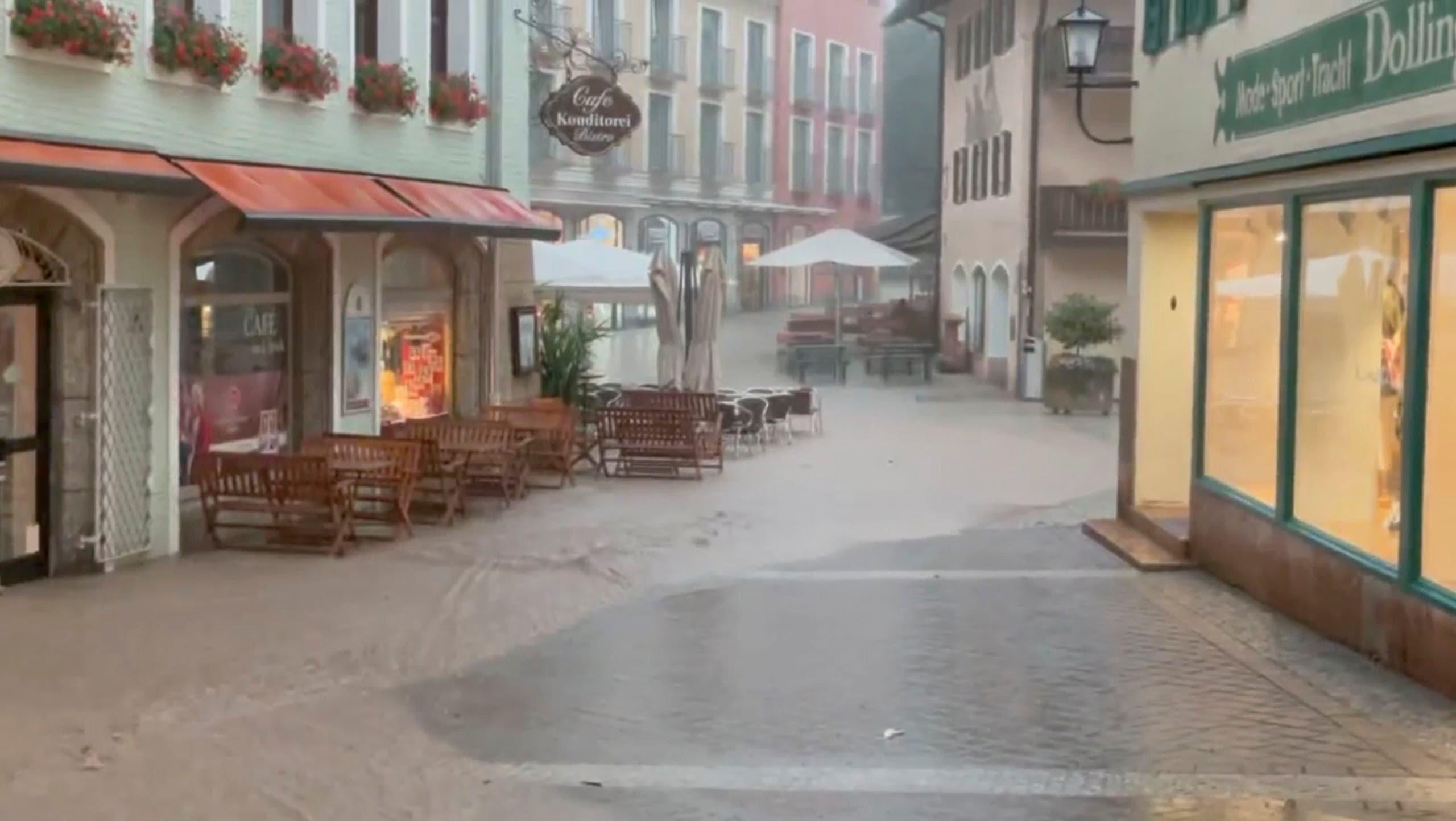 من فيضانات ألمانيا (رويترز)
