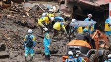 Japan landslide death toll mounts to 15