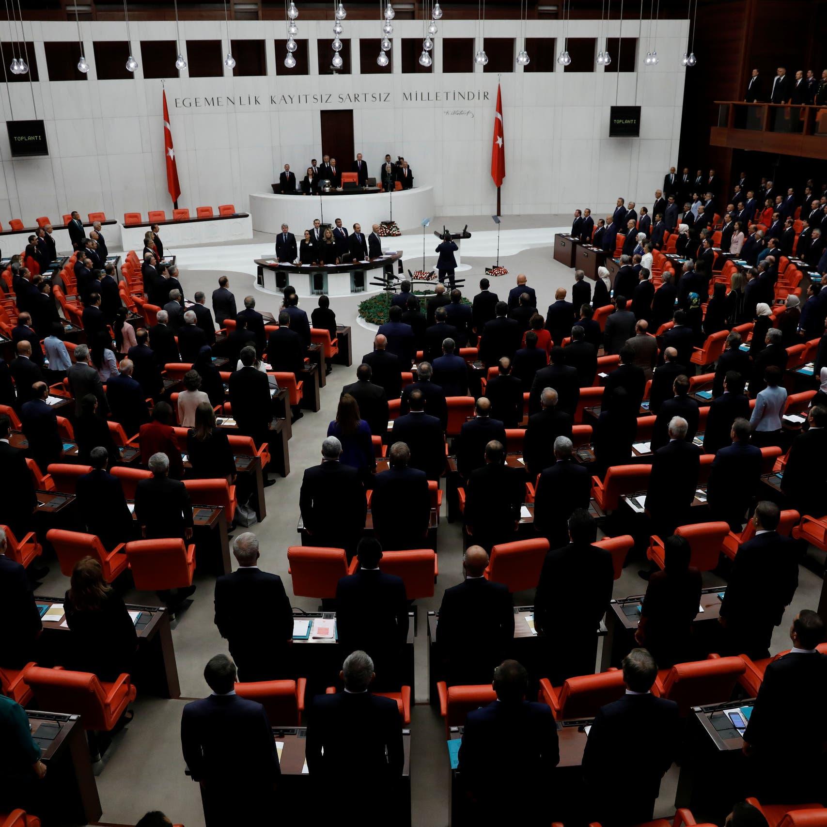 "وسط انتقادات.. برلمان تركيا يمدد قانون ""مكافحة الإرهاب"""