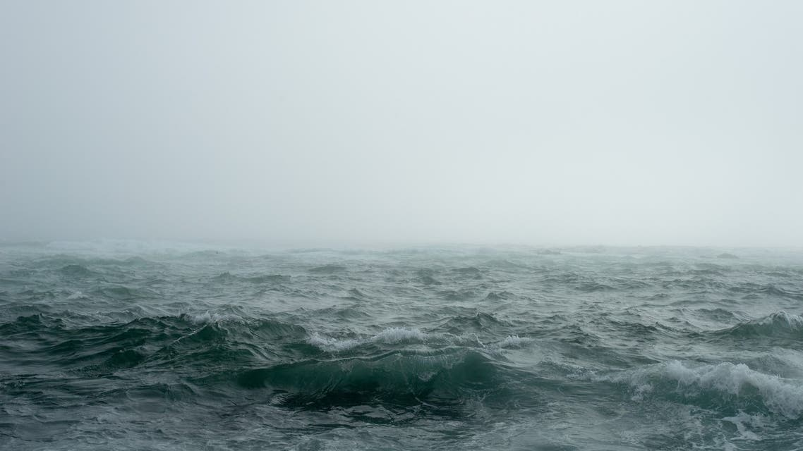 A stock image depicting a stormy sea. (Pixabay)