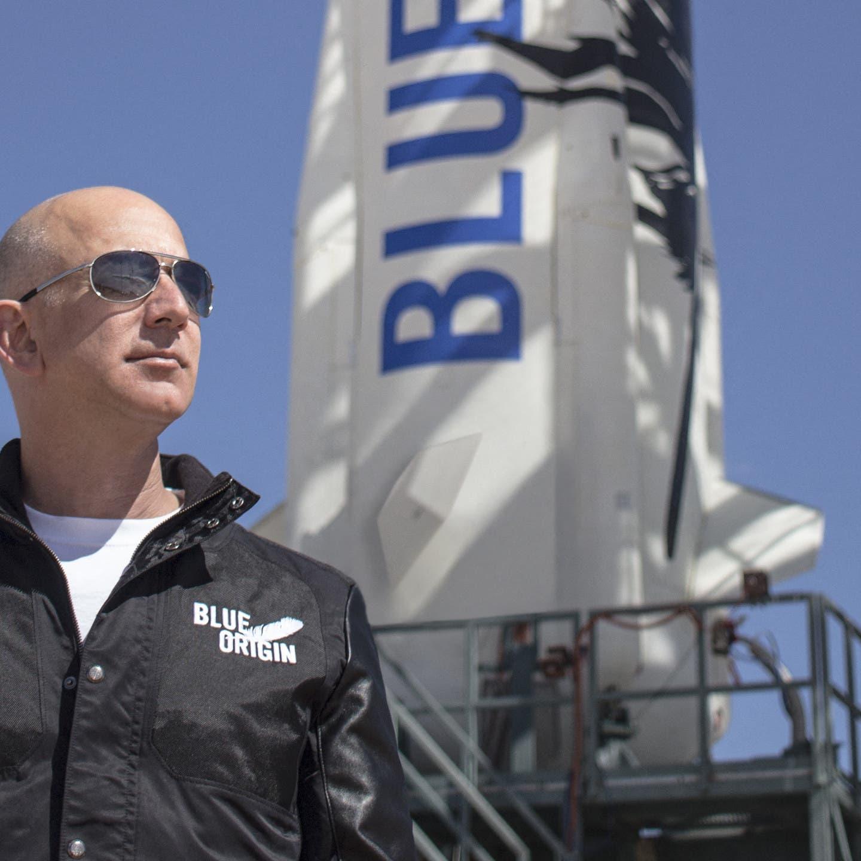 Bezos and crewmates prepare for inaugural Blue Origin space flight