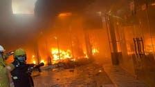 کربلا : ہوٹل میں لگی آگ بجھا دی گئی ، 78 افراد کو بچا لیا گیا
