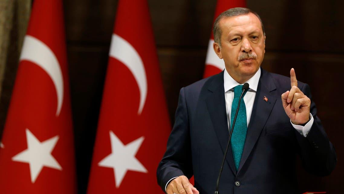 Turkish Prime Minister Tayyip Erdogan addresses the media in Ankara September 30, 2013. (Reuters)