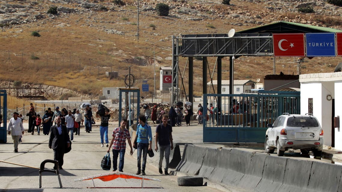 الحدود السورية التركية (رويترز)