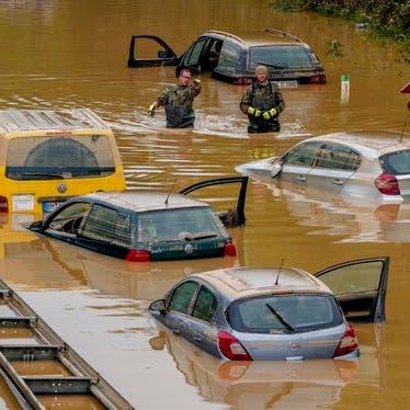صور صادمة.. عدد قتلى فيضانات أوروبا يتجاوز 180