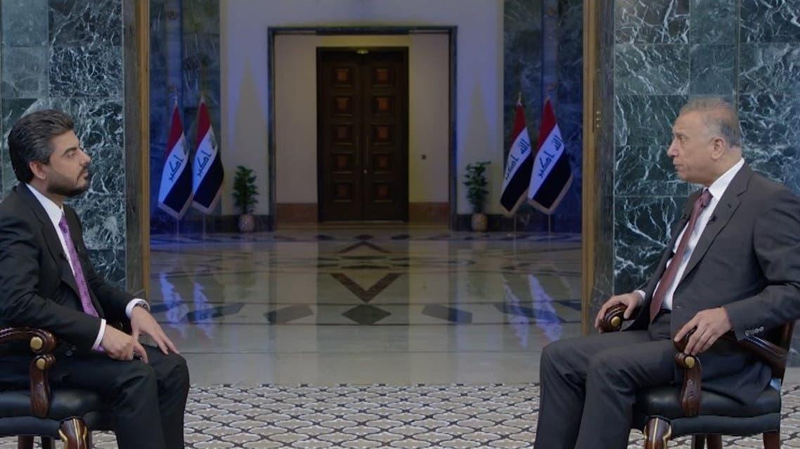 مصطفى الكاظمي في مقابلة مع العربية
