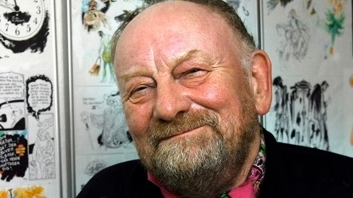 Danish cartoonist Kurt Westergaard poses in this September 2006 file photo. (Reuters)