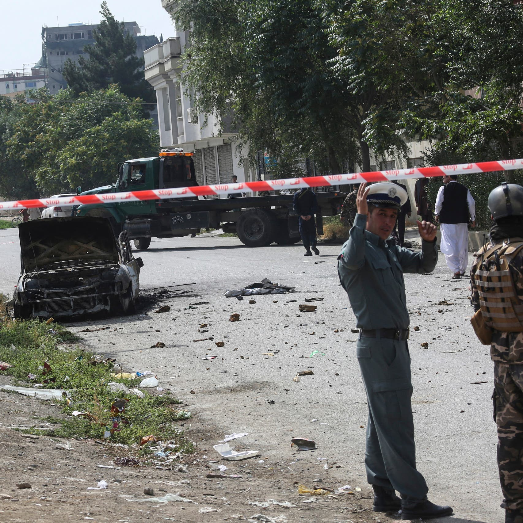 ISIS claims responsibility for rocket attack on Afghan presidential palace in Kabul