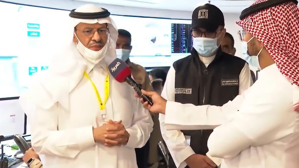 وزير الطاقة السعودي خلال حديثه للعربية