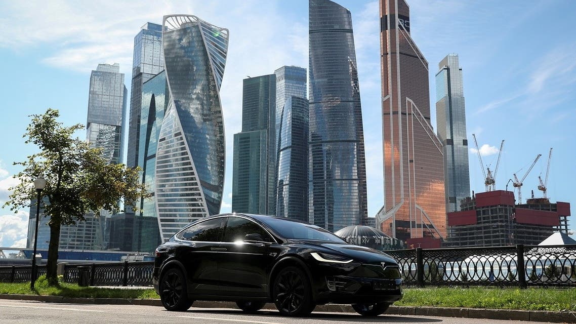 A Tesla Model X electric vehicle is shown in this picture illustration taken in Moscow, Russia. (File photo: Reuters)