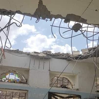 باليستي حوثي إيراني الصنع يستهدف مدرسة جنوب مأرب