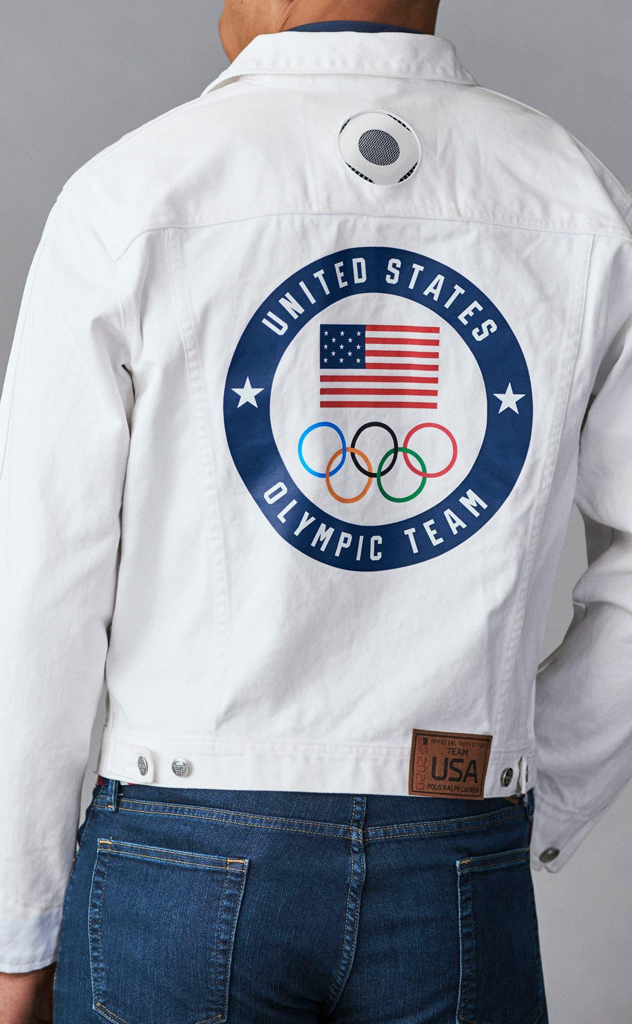 السترة المبردة سيرتديها فقط حامل العلم الأميركي في افتتاح الأولمبياد