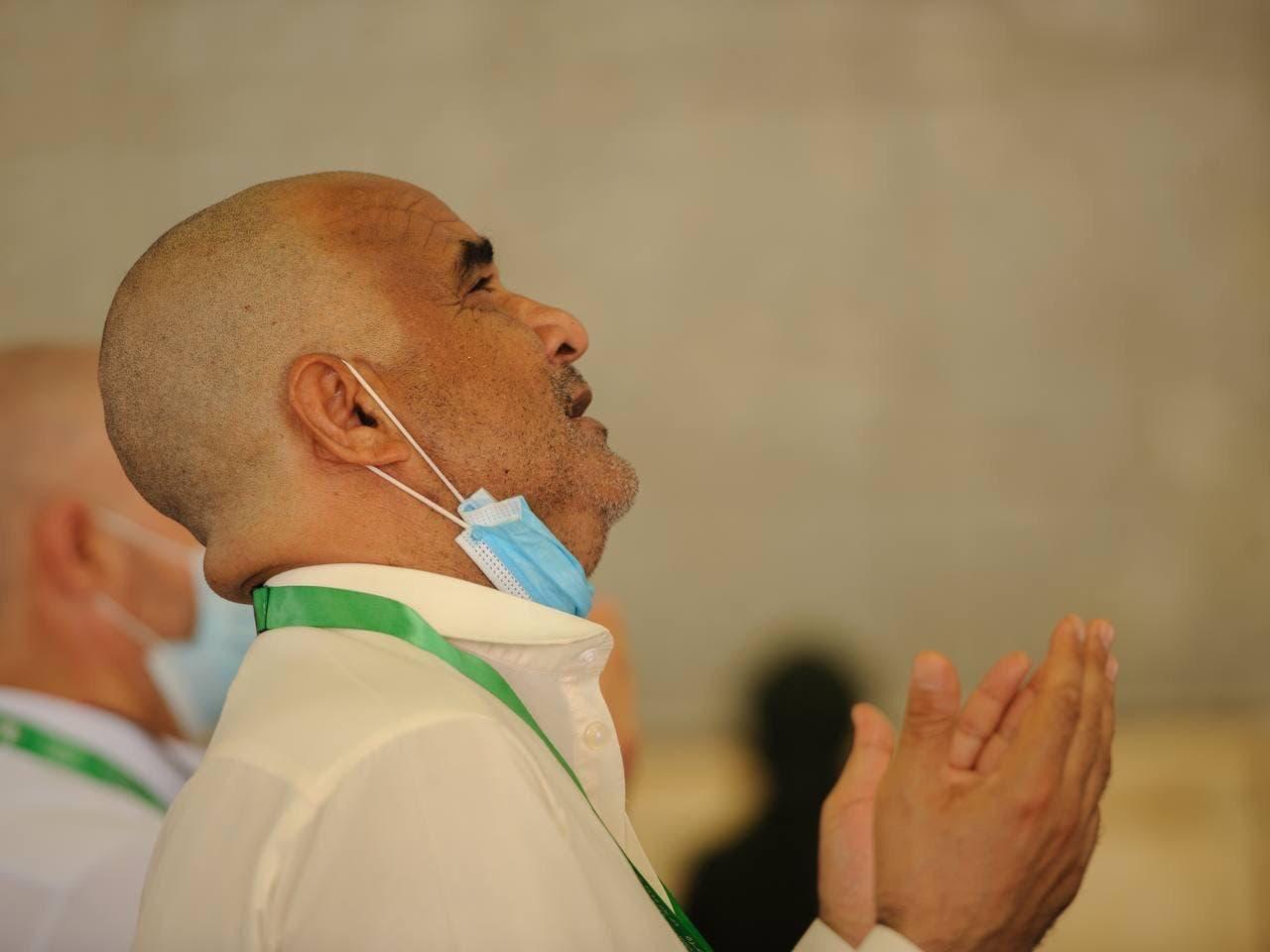 The prayer of the pilgrims