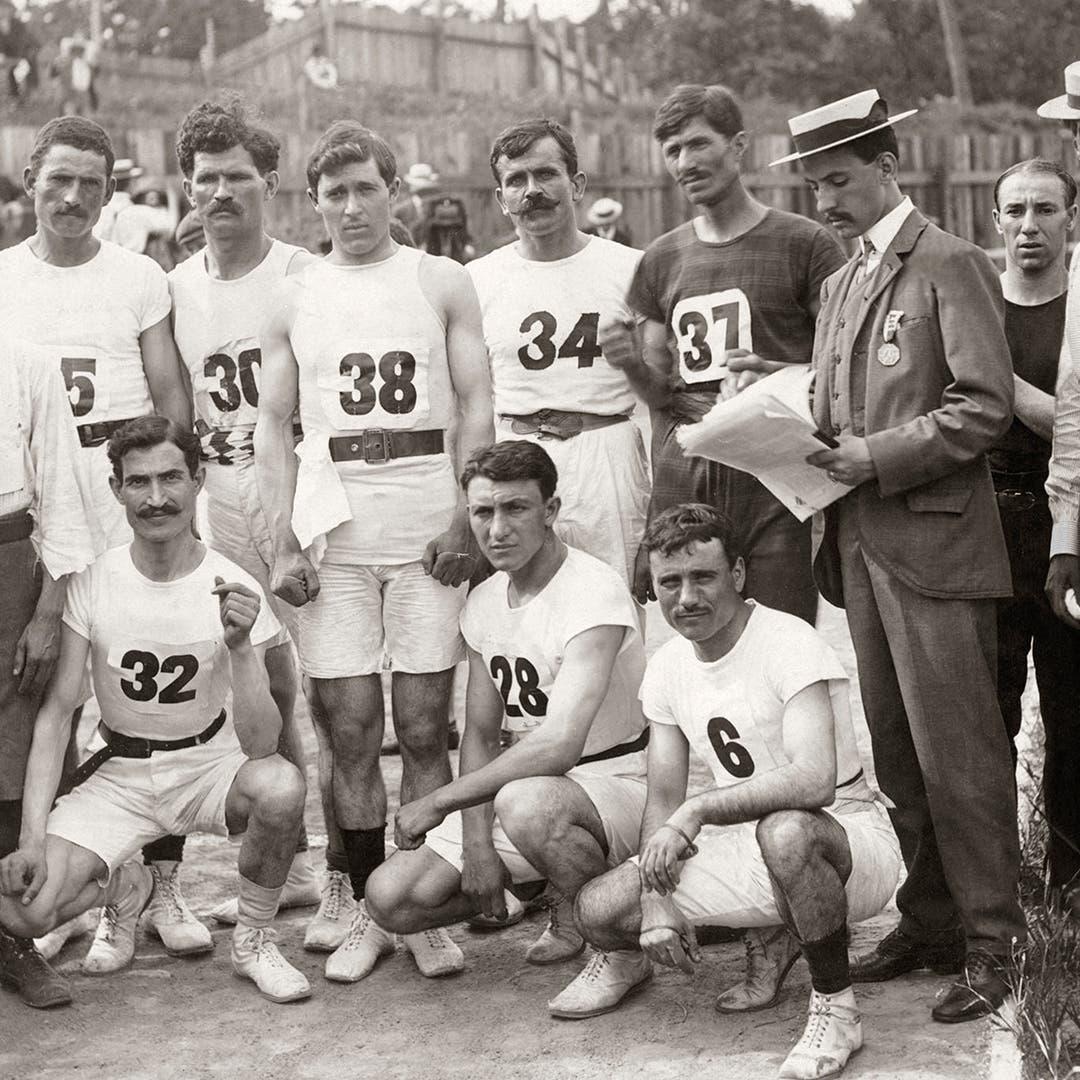 هكذا تحولت الألعاب الأولمبية لعرض هزلي سنة 1904