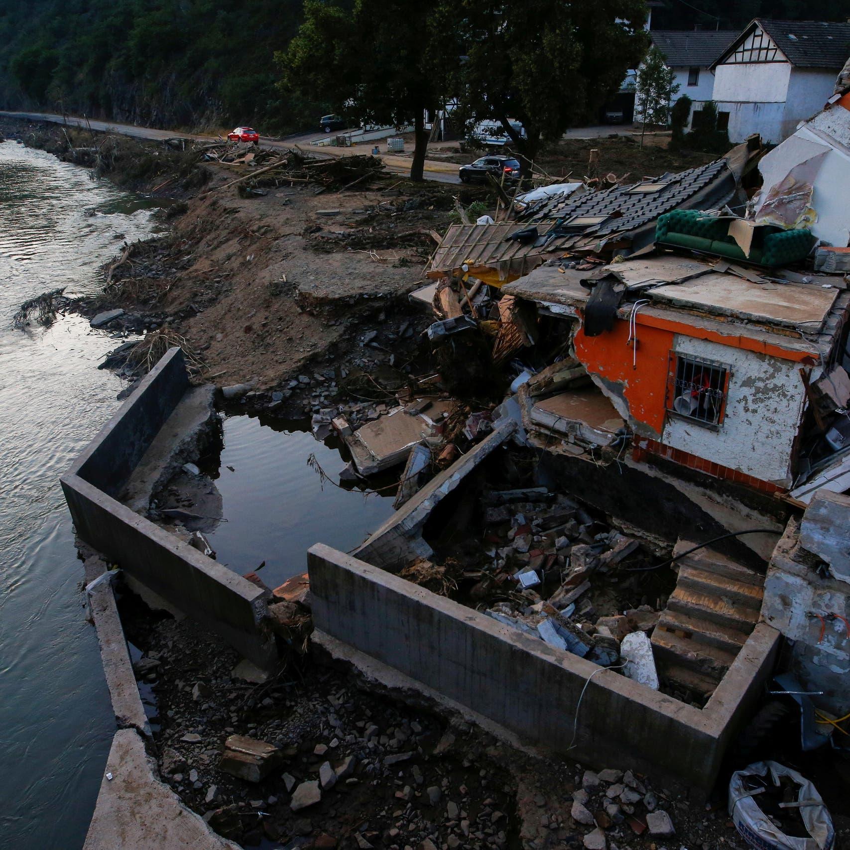 استبعاد العثور على المزيد من الناجين إثر فيضانات ألمانيا