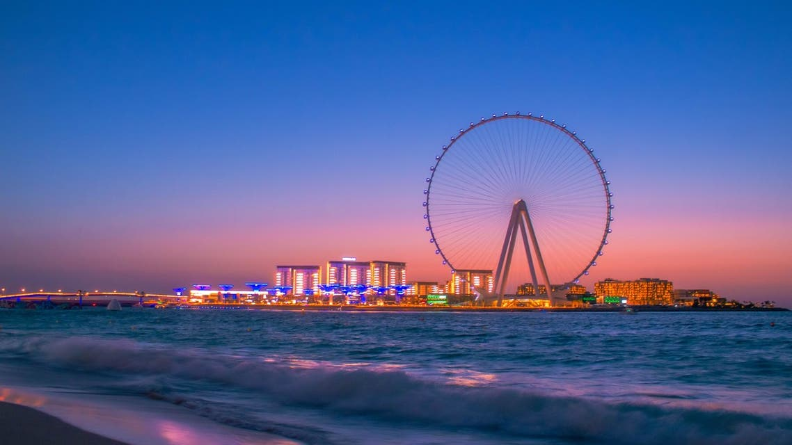 General view of Bluewaters Island and the Dubai Eye, in Dubai, United Arab Emirates. (Unsplash, Mohammed Nasim)