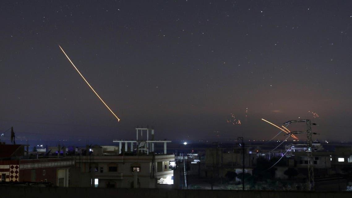 قصف إسرائيلي سابق على سوريا (أرشيفية)