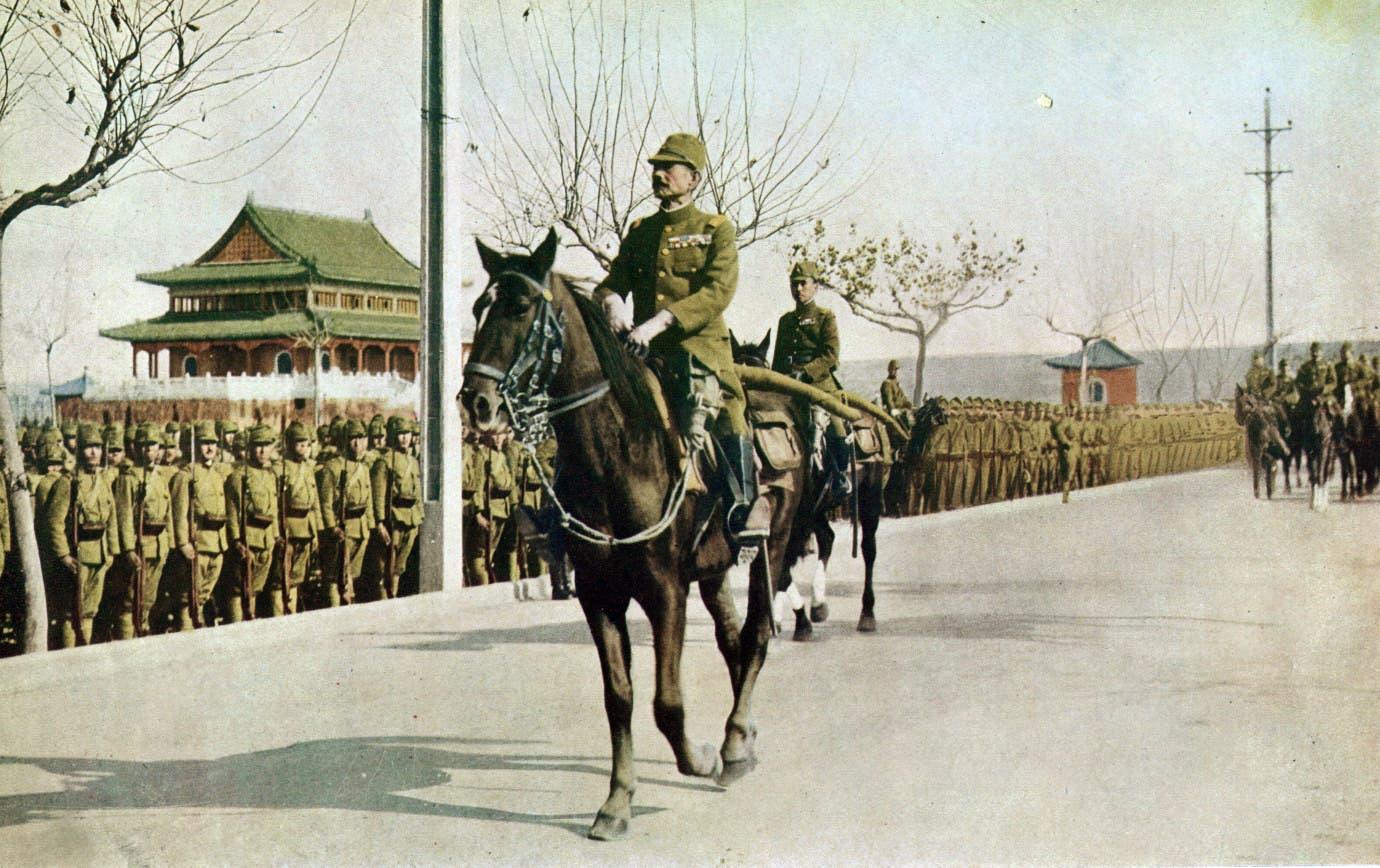 جانب من القوات اليابانية بنانجنغ