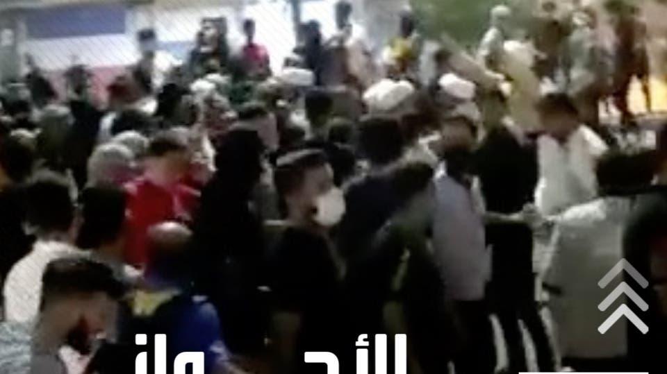 تصاعد وتوسع تظاهرات العطش لليوم الثامن في الأحواز