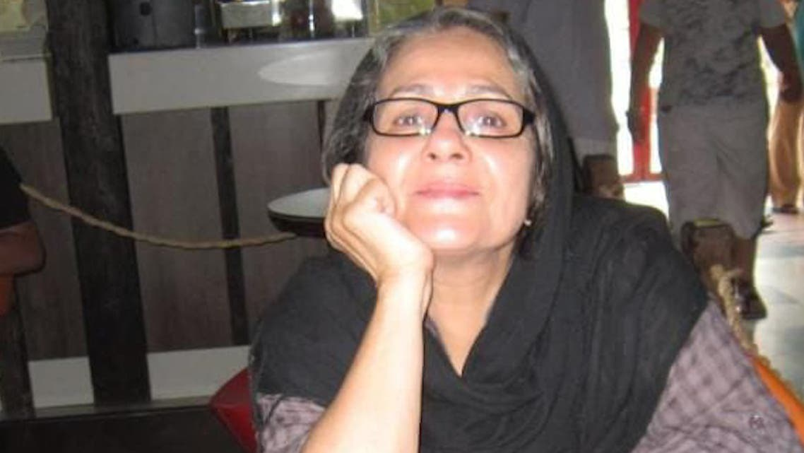 Nahid Taghavi was arrested at her Tehran apartment in October after years fighting for human rights in Iran. (Supplied)