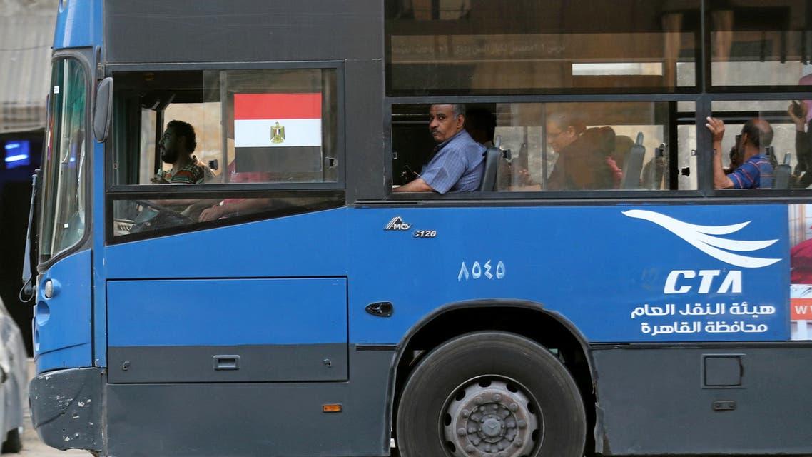 حافلة مواصلات في مصر