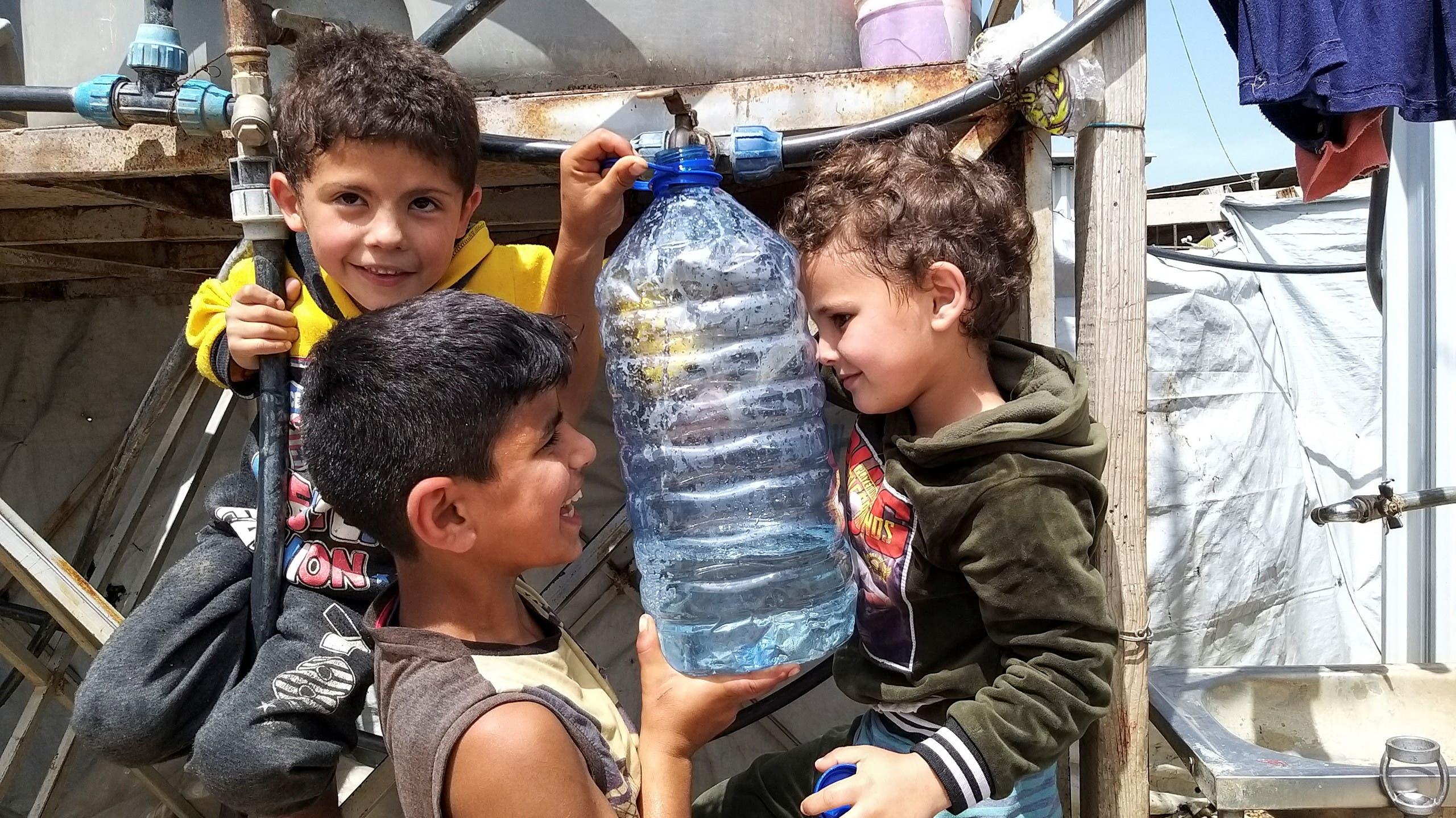 لاجئون سوريون في شمال لبنان (أرشيفية من رويترز)