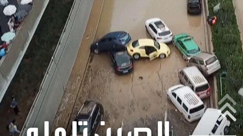 فيضانات غير مسبوقة.. مشاهد صادمة من الصين