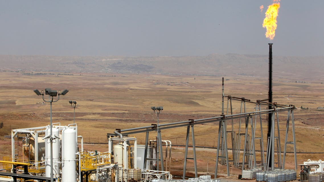 حقل نفط في كردستان (رويترز)