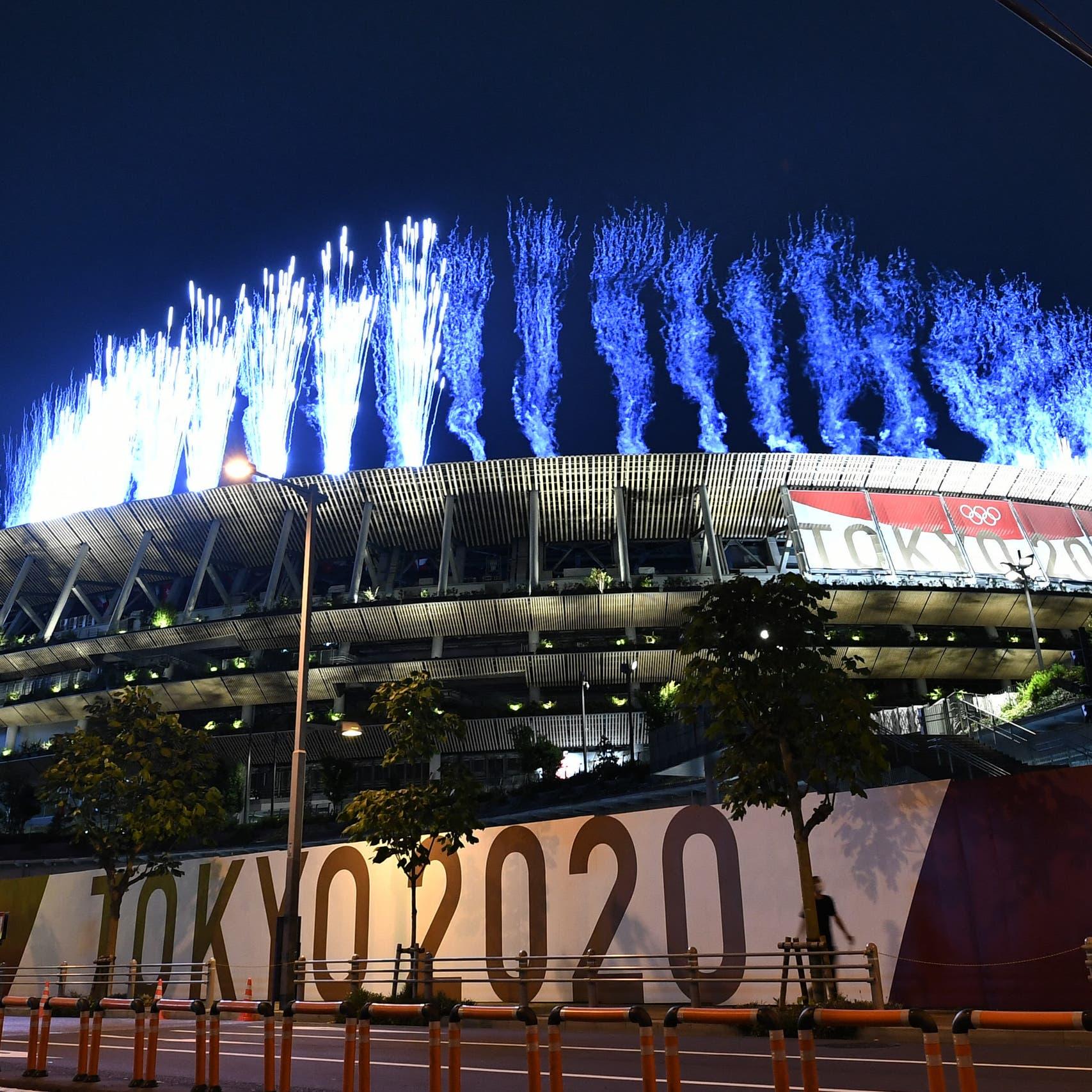Fireworks get Tokyo's no-frills Olympics opening ceremony underway