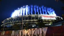 ٹوکیواولمپِکس کی افتتاحی تقریب،رنگا رنگ آتش بازی ،مگراسٹیڈیم شائقین سے خالی