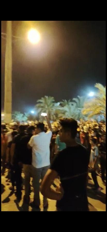 من احتجاجات الأهواز