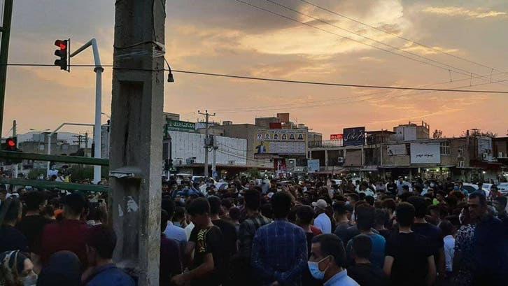 ایران:قلّتِ آب کے خلاف پُرتشدداحتجاجی مظاہرے جاری، ایک اور شخص ہلاک