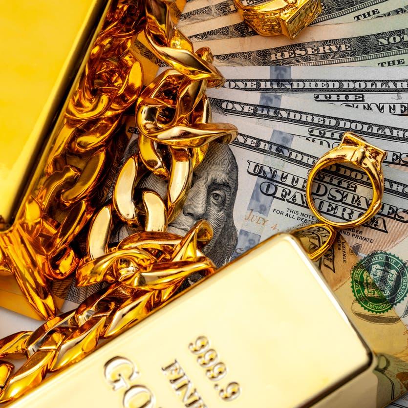 الذهب يهبط مع ترقب المستثمرين مؤشرات تقليص التحفيز الاقتصادي