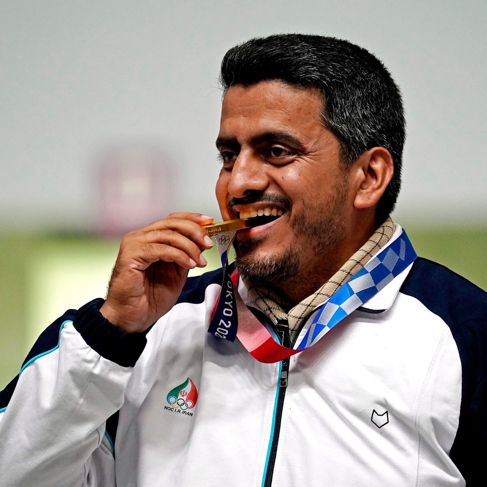 Tokyo Olympics: IRGC member wins Iran's first gold, dedicates medal to Khamenei