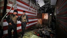 Iraq's prime minister announces arrests over Baghdad suicide bombing