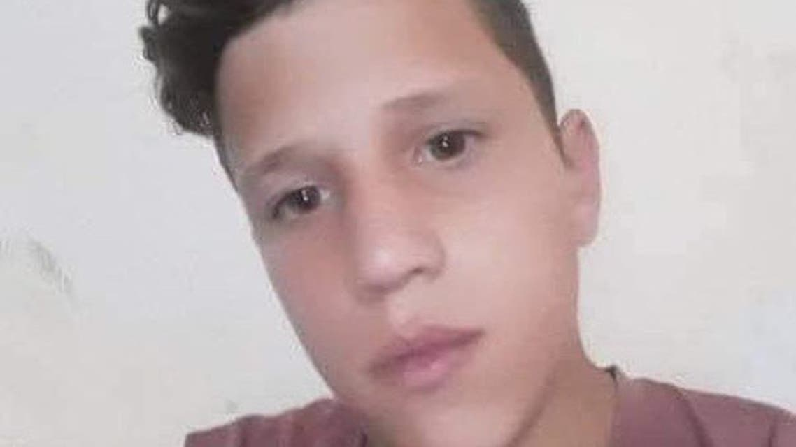 Mohammed Munir al-Tamimi, 17, who suffered gunshot wounds during clashes with Israeli soldiers at a protest over illegal settlements in the occupied West Bank, dies on 24 July 2021. (Twitter)