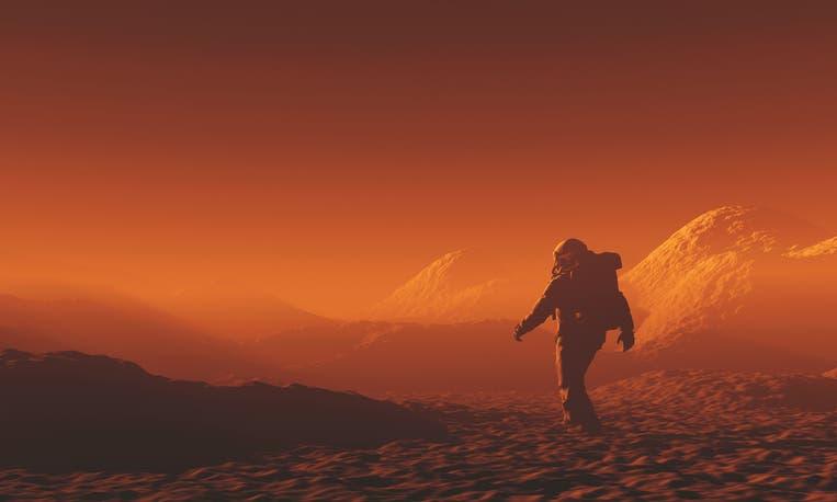 المريخ (آيستوك)