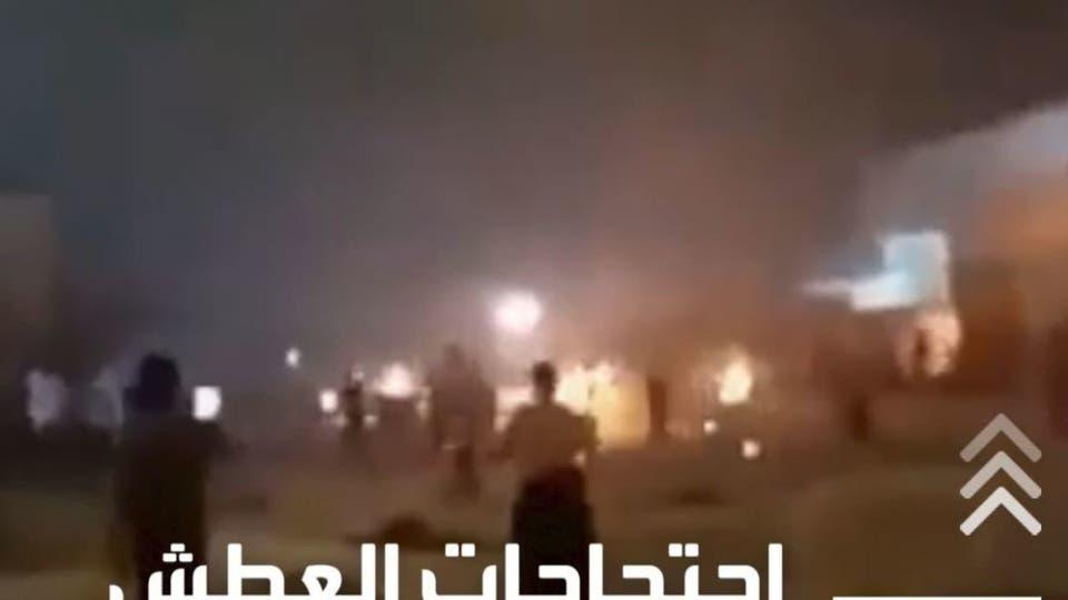 مشاهد القمع بالرصاص لاحتجاجات الأحواز تغزو مواقع التواصل