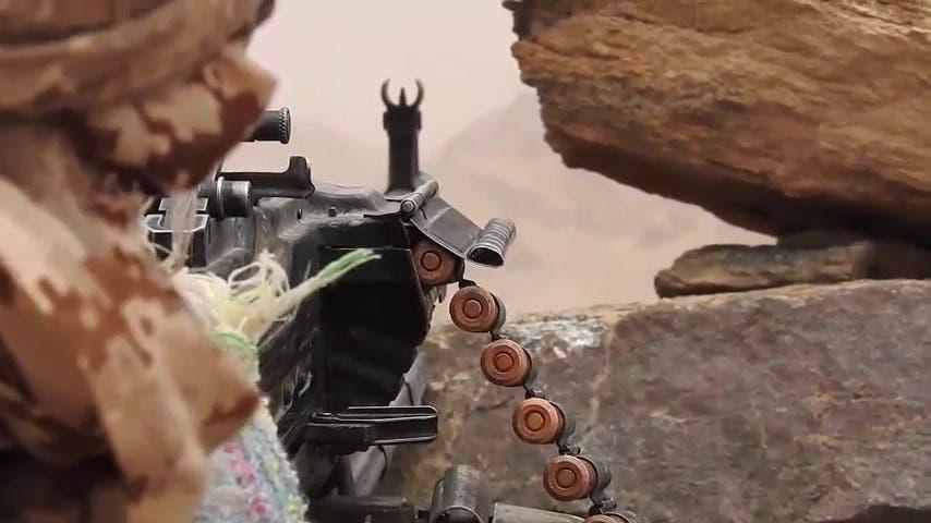 The Yemeni army in Marib (archive)
