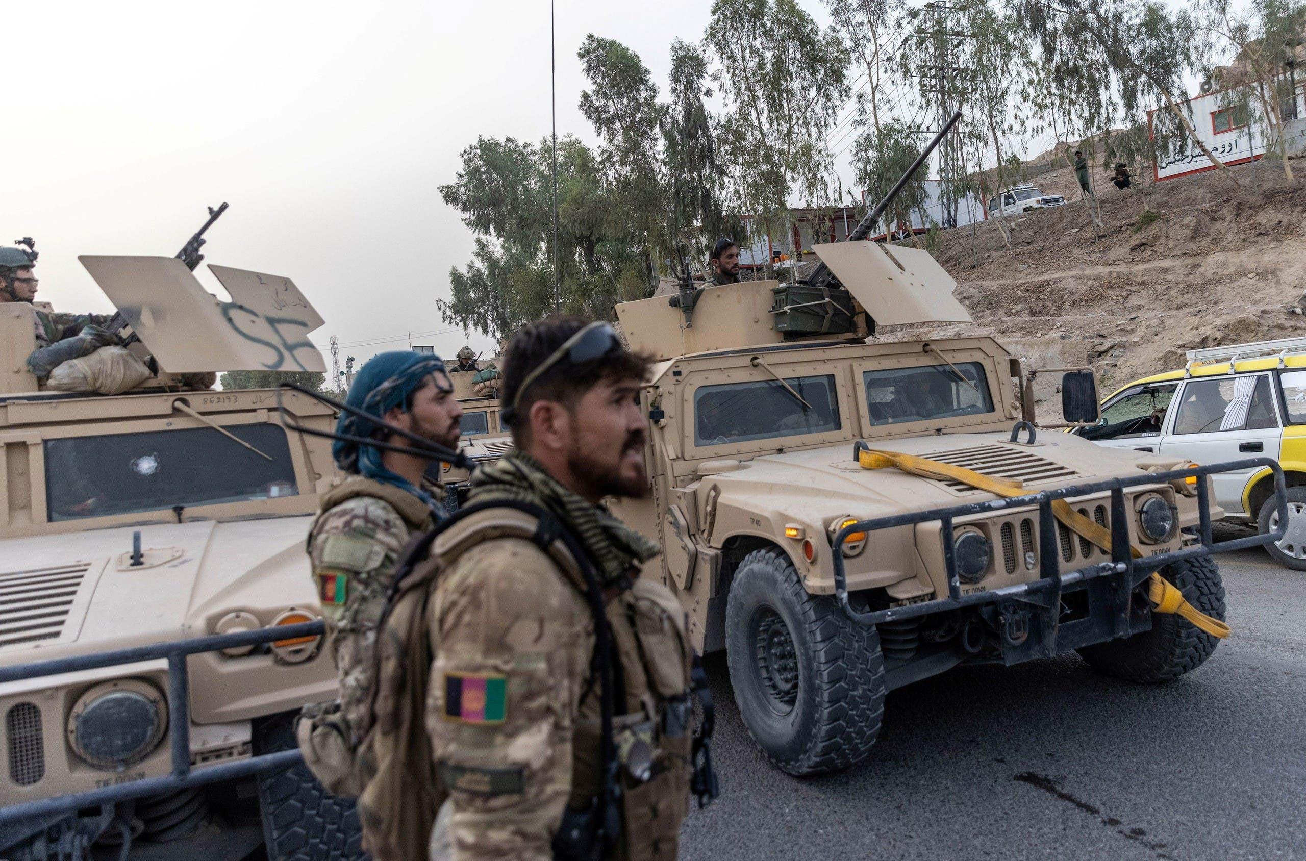 الجيش الأفغاني في قندهار خلال معارمع طالبان