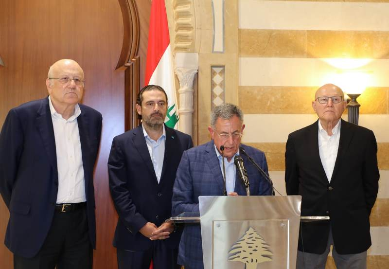 Lebanon .. Former prime ministers support Mikati to form government