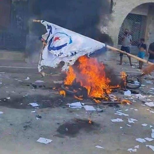 """قيادي بالنهضة يهاجم قناتي """"العربية"""" و""""الحدث"""" بعد تغطية احتجاجات تونس"""